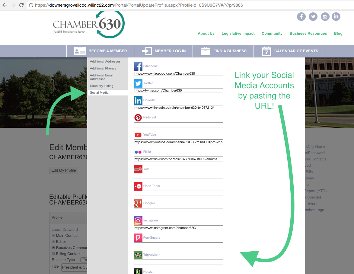 Social-Media-Enter-Page