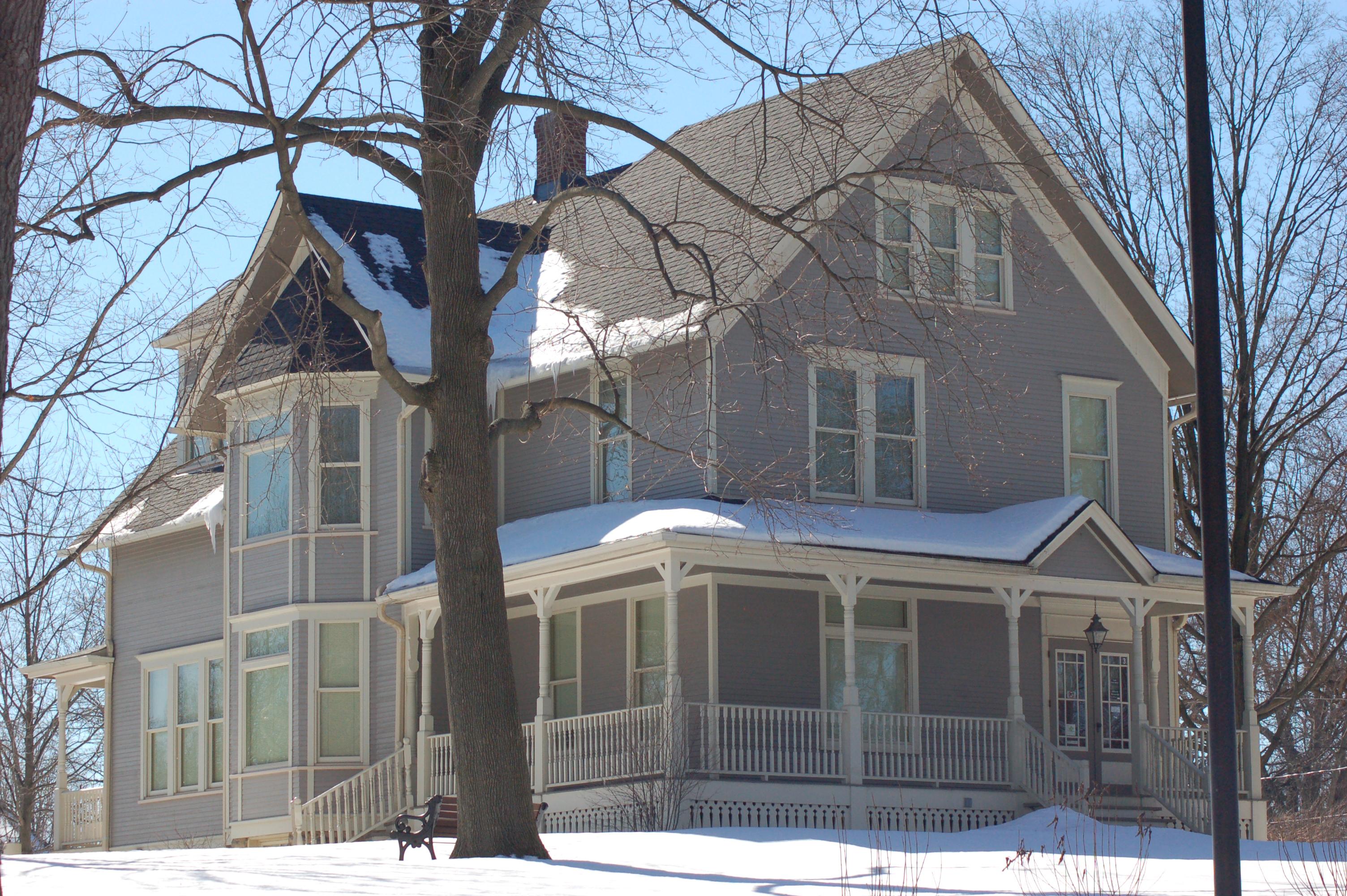 Blodgett House Winter