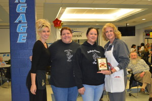 Best Sauce: Papa's Pizza Place (Woodridge) with District 99 Education Foundation board member and Pizza Wars event chair Martha Merilos