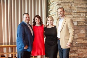 Presenting Sponsors: IntentGen Financial Partners (from left to right) Corey & Tonya Schmidt; Kristin & Zac Larson